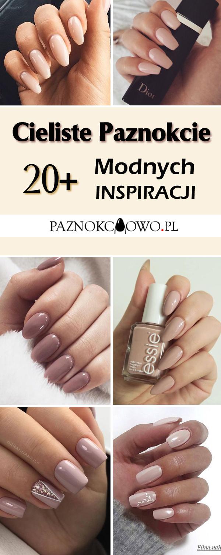 10 inspiracji na proste, jednokolorowe paznokcie