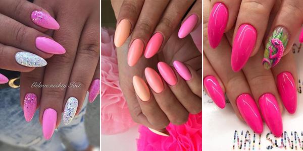 Różowe Paznokcie Top 21 Inspiracji Na Dziewczęcy I Słodki Manicure