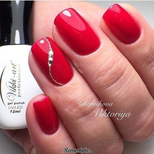 Czerwone Paznokcie 20 Mega Kobiecych I Modnych Inspiracji Na