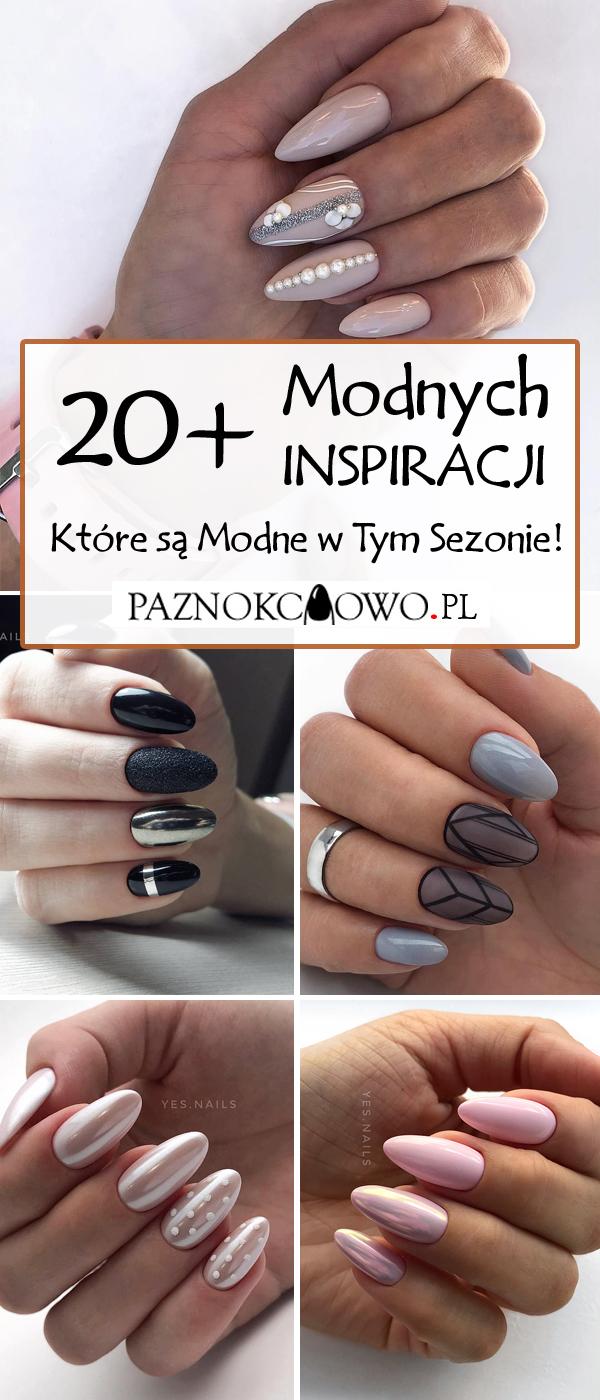 Paznokcie Na Jesien 20 Modnych Inspiracji Na Nowa Pore Roku