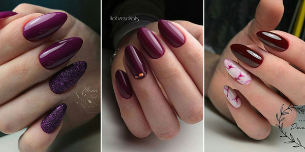 Bordowe Paznokcie Top 28 Modnych Inspiracji Na Burgundowy Manicure